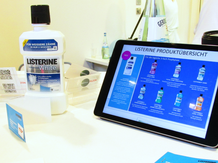 beautypress Blogger Event Juni 2015 - Part 1 - Listerine Advanced White