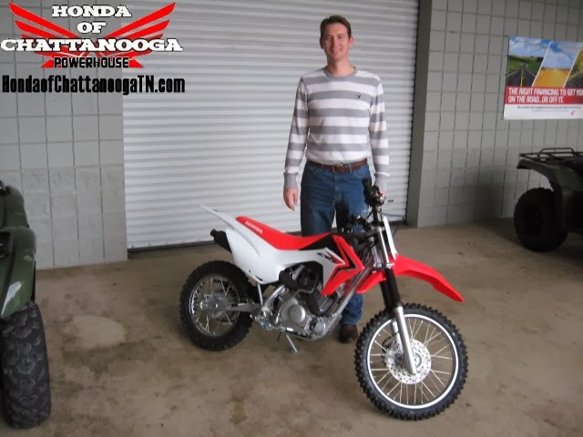 Customer Buying A 2014 CRF125F From Honda Of Chattanooga Because Of Our  Discount Honda CRF Dirt Bike Prices.