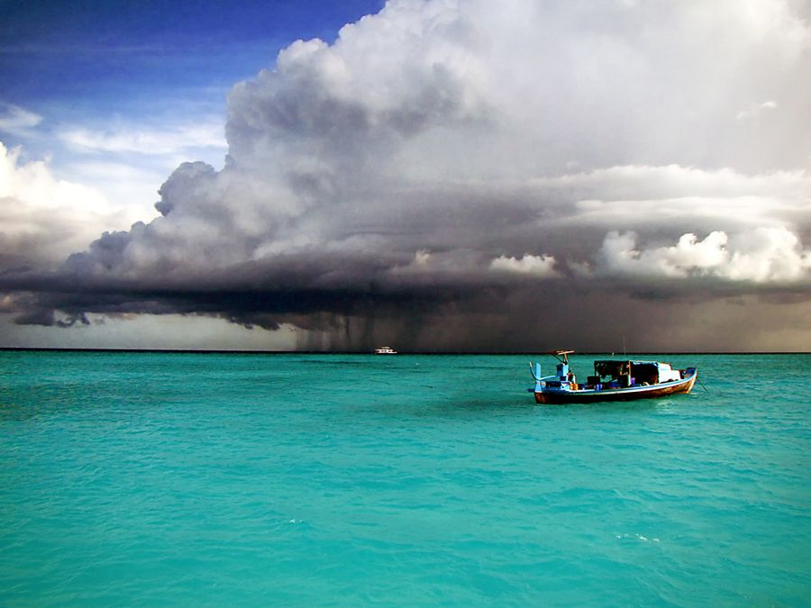 10. Storm at Baa Atoll Maldives by Badr Naseem