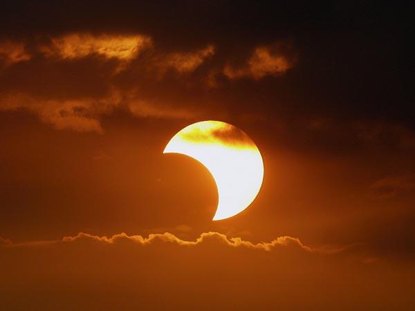 Solar Eclipse 2009 Philippines Free Desktop Wallpaper