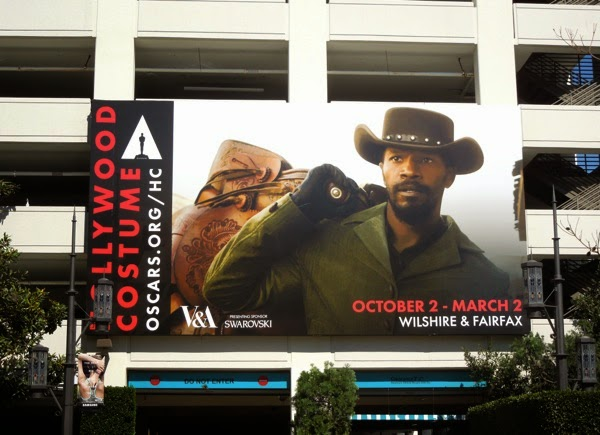 Hollywood Costume V&A exhibition billboard