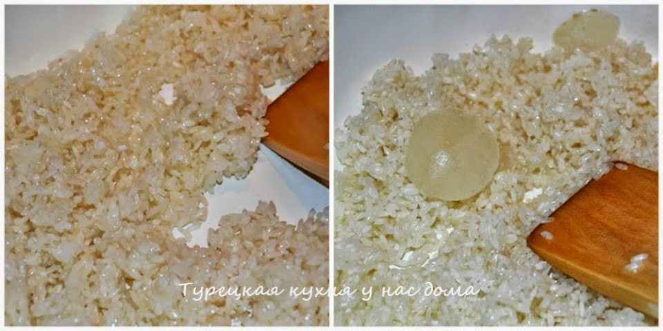 рецепт риса с чечевицей