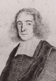 Detail van pentekening van Spinoza door Johan Faber