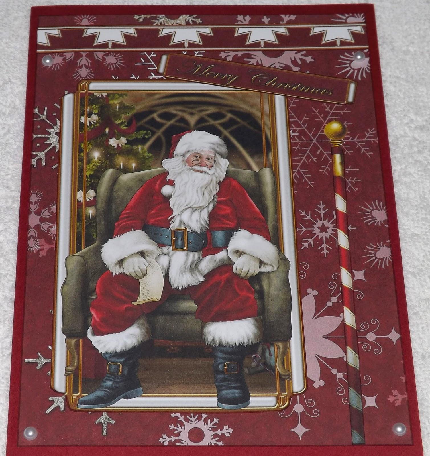Kym S Crafty Cards Debbi Moore Santa Claus Ii Christmas Cards