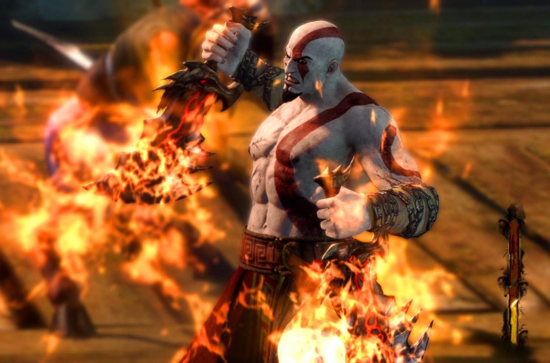 Game World: God of War...