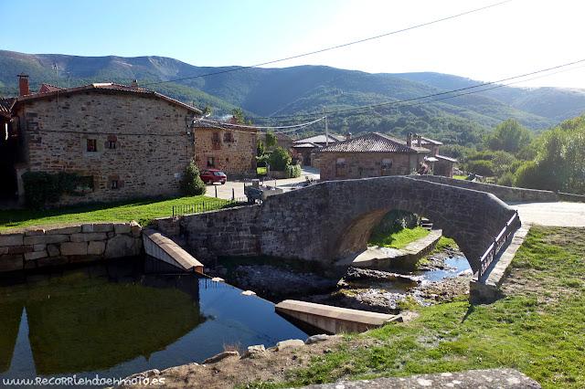 Puente sobre río Arlanzón, Pineda de la Sierra