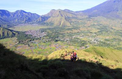 Bukit Pergasingan, Gunung Rinjani, Sembalun