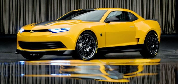 Transformers Transforms Chevy Camaro Into Dream Car