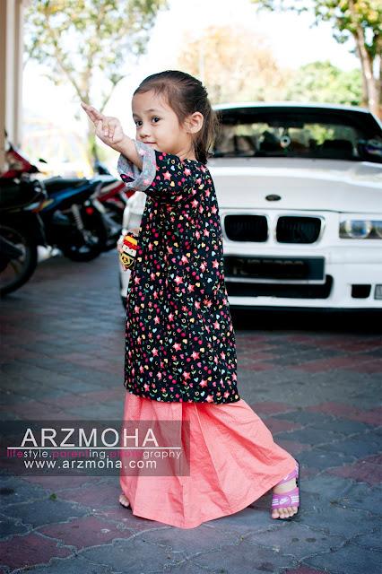 bergaya dengna baju kurung kanak-kanak RianaLittleCuties, baju kurung kanak-kanak online, baju kurung japanese cotton kanak-kanak, baju kurung selesam baju kurung murah,