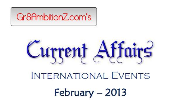 Current Affairs In PDF - MPSCworldcom