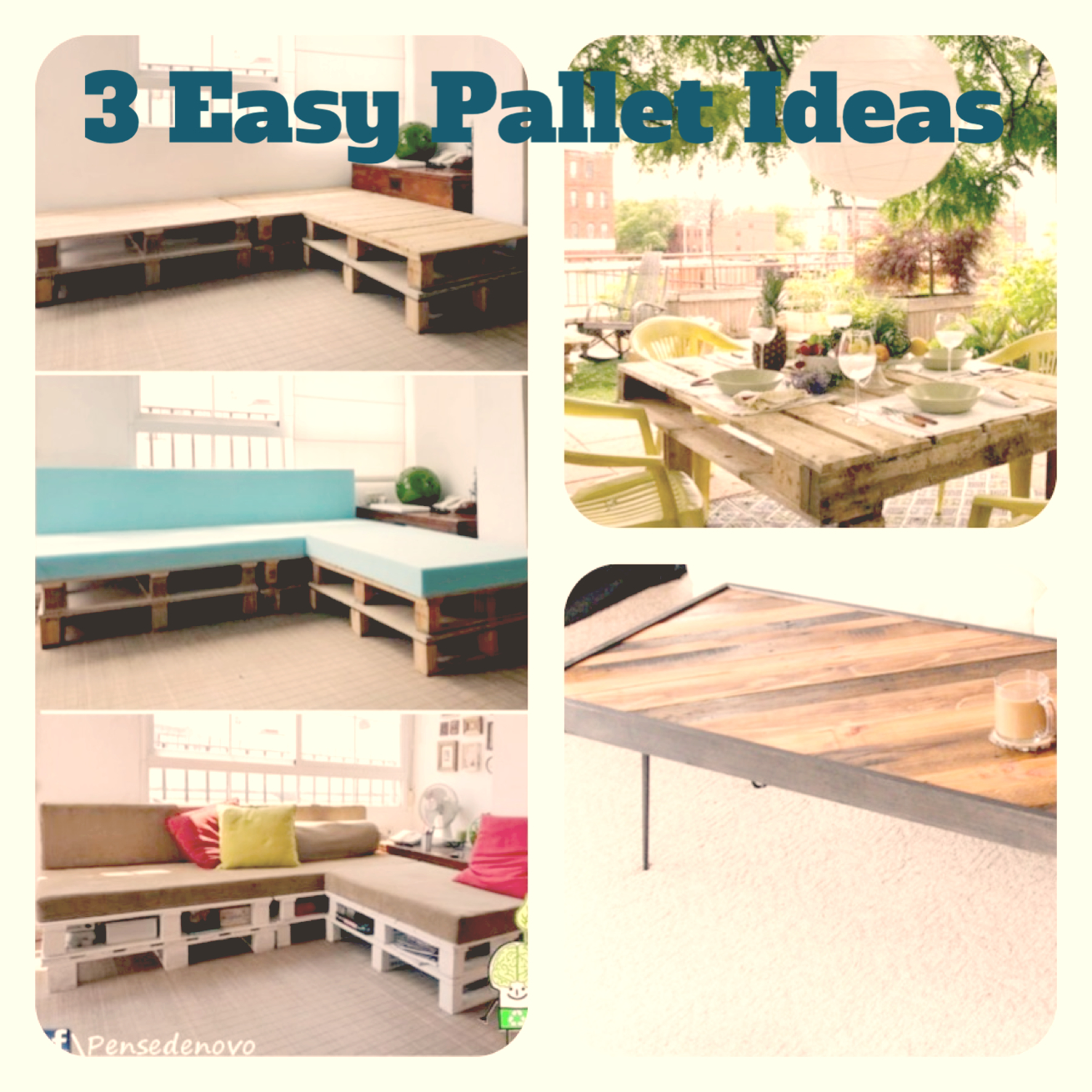 Pinterest Pallet Furniture Ideas