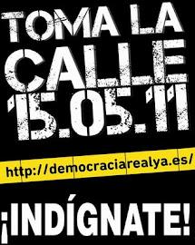 ¡DEMOCRACIA REAL YA!