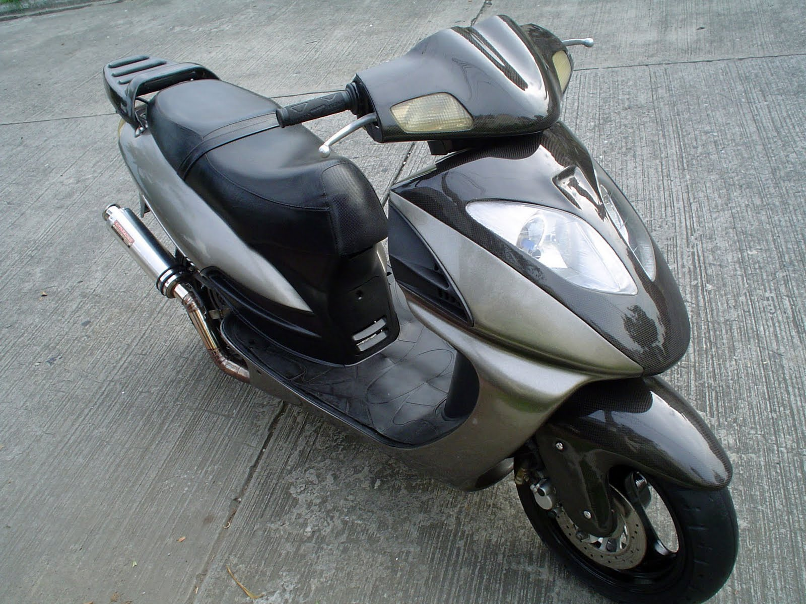 Tuning the scooter: what is it