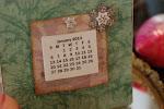 Free mini 2013 printable calendar