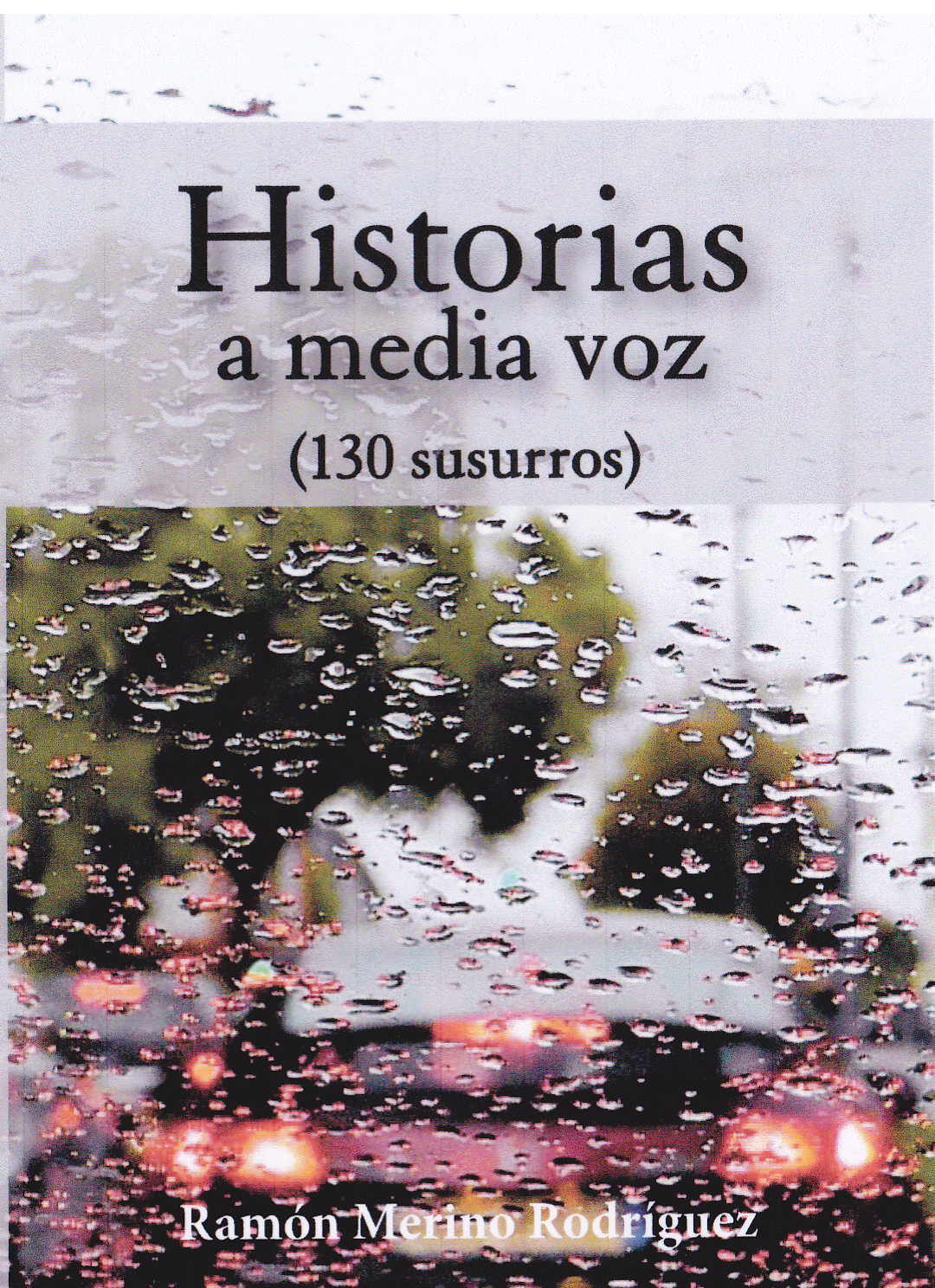 """Libro """"Historias a media voz"""""""