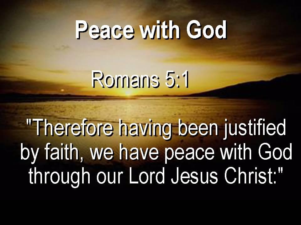 Akintundeakinlowo Peace With God