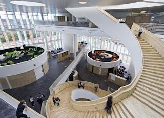Orestad High School, Copenhagen 2 - 7 Gedung Sekolah Berbentuk Unik di Dunia
