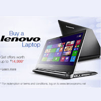 Lenovo Laptops : Back to College Offer worth upto Rs. 14999 from Amazon