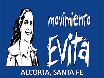 MOVIMIENTO EVITA, ALCORTA, SANTA FE