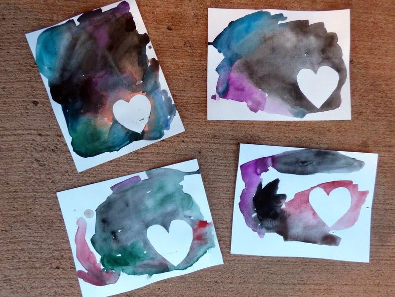 valentine's crafts for toddlers, valentine's crafts for kids, valentine's craft for pre K, valentine's crafts for preschoolers, tape resist valentine's