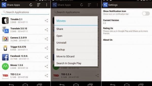 تحميل تطبيق Share Apps لمشاركة التطبيقات بين أجهزة أندرويد عبر البلوتوث.