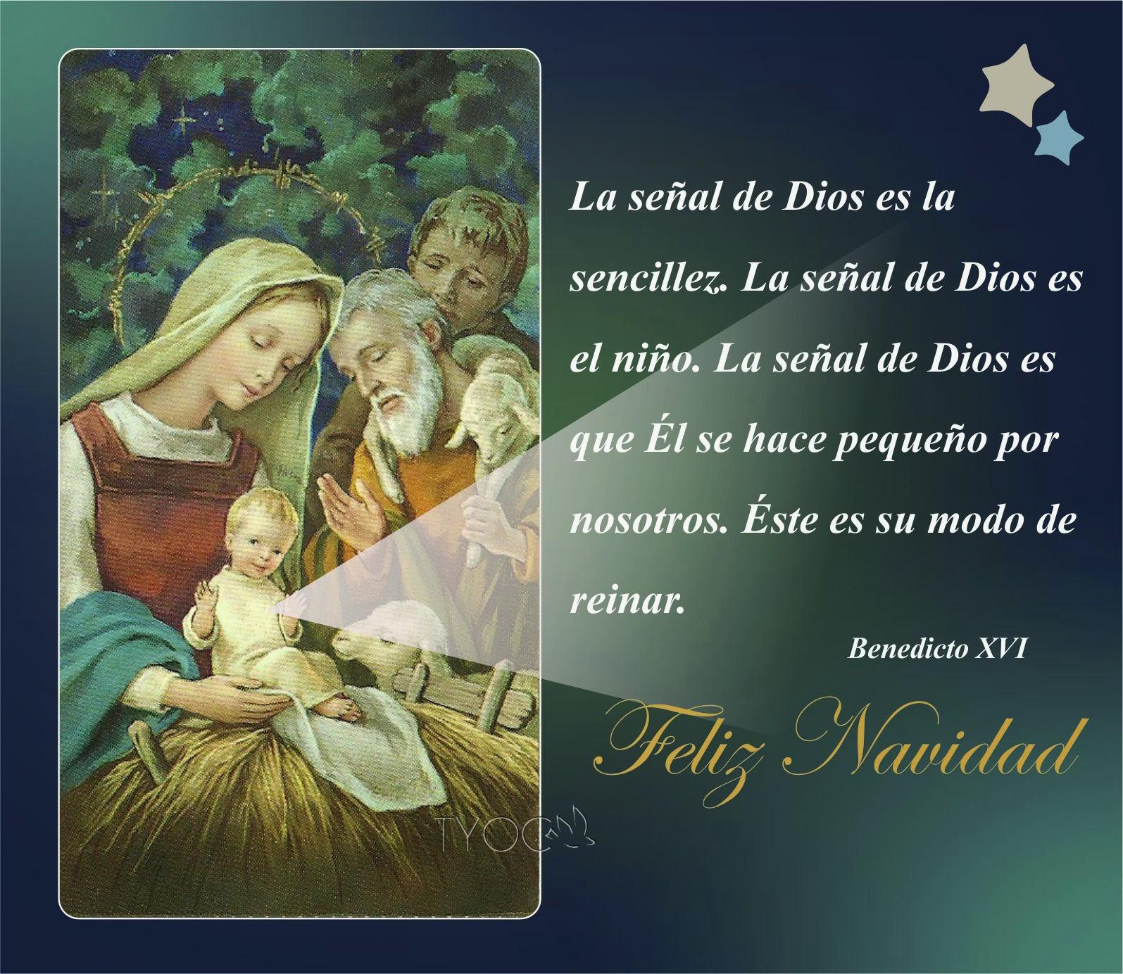 Tarjetas y oraciones catolicas tarjetas navide as con - Tarjetas navidenas cristianas ...