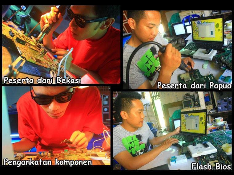 Perbaikan laptop Software & Hardware