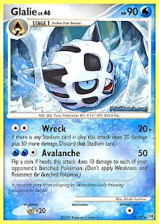Glalie Pokemon Card Arceus Set
