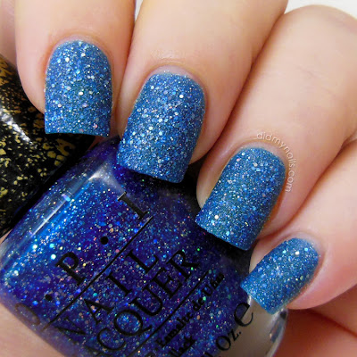 OPI Get Your Number Mariah Liquid Sand swatch