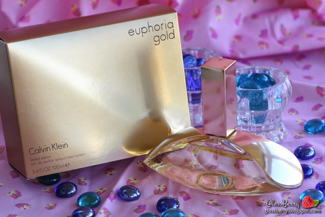calvin klein ck euphoria gold perfume edp review scent smell בושם קלווין קליין אופוריה זהב  glossberry בלוג איפור וטיפוח גלוסברי