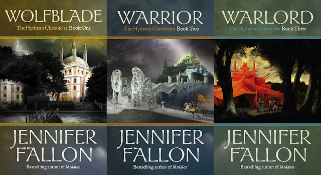 Hythrun Chronicles: Wolfblade Trilogy by Jennifer Fallon