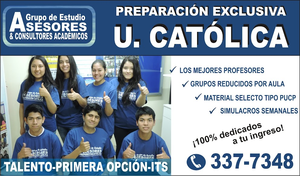 PREPARACION CATÓLICA GRUPO DE ESTUDIO ASESORES Y CONSULTORES ACADÉMICOS