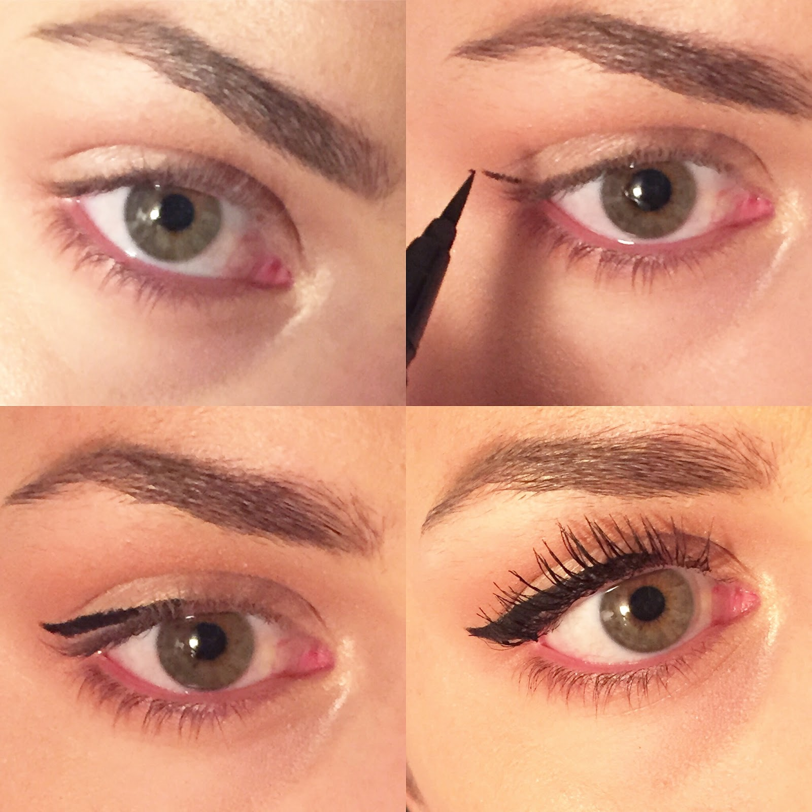how to the perfect winged liner Classic eyeliner tutorial, perfect winged eyeliner tutorial, step by step perfect eyeliner tutorial.