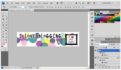 membuat header blog