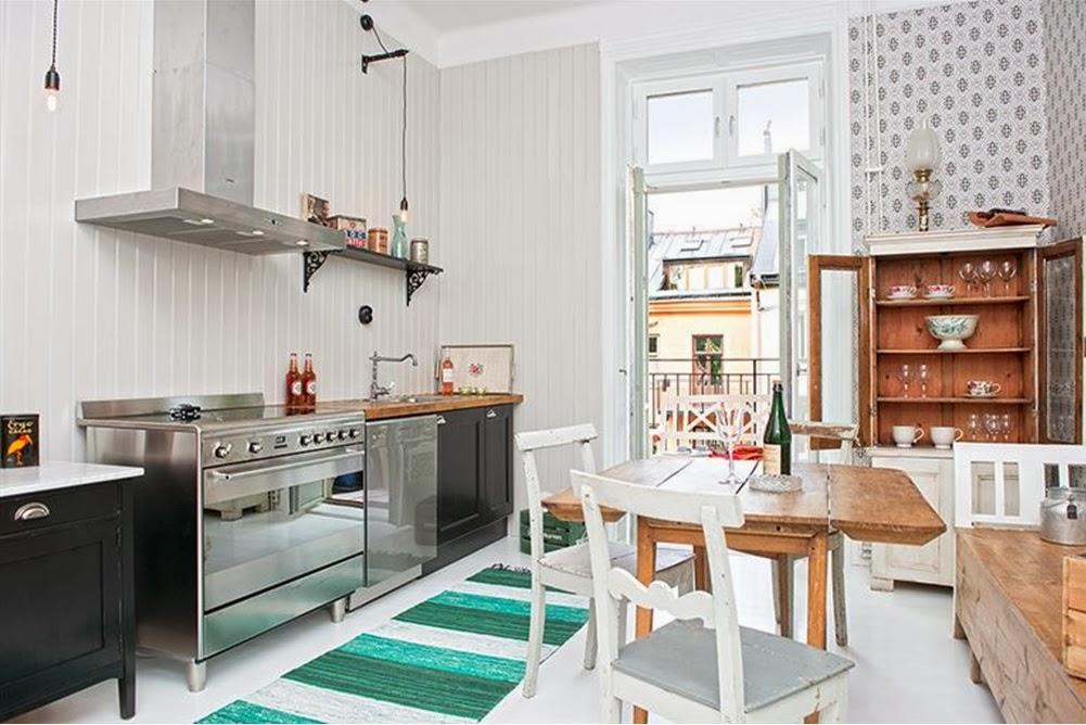 Inspirationsbilder Lantligt Kok : My Bohemic home Slagbord i kok