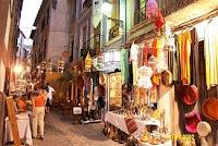 calles donde predomina el ambiente musulman
