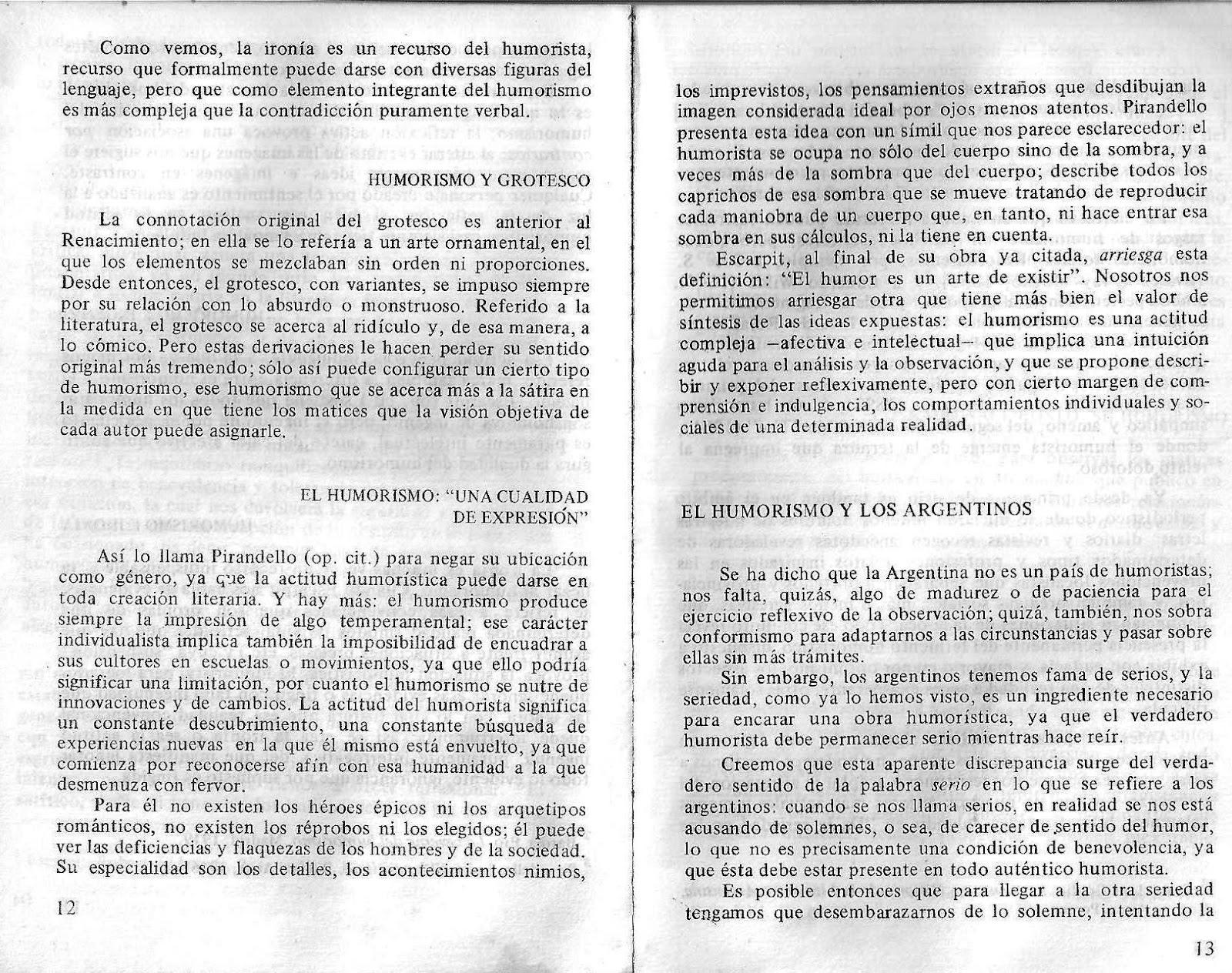 EL HUMOR. CHAMICO | LITERATURA 6