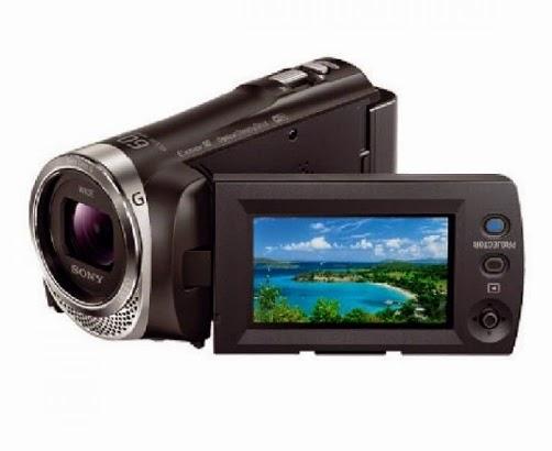 Kamera Video Sony HDR PJ340E - 9.2 MP Full HD Handycam Camcorder