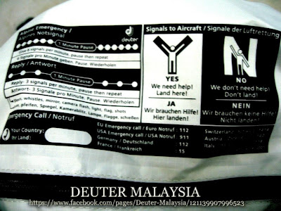 tips beza beg deuter original dan palsu
