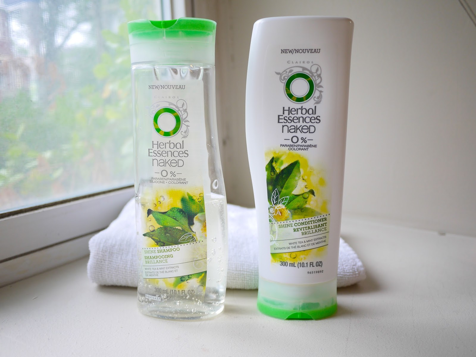 Herbal Essences Naked 0% Shine Shampoo and Conditioner* review