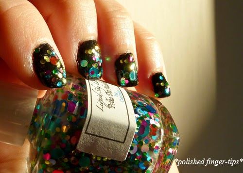 Polka Dot Heaven by Liquid Sky Lacquer - Sun Light