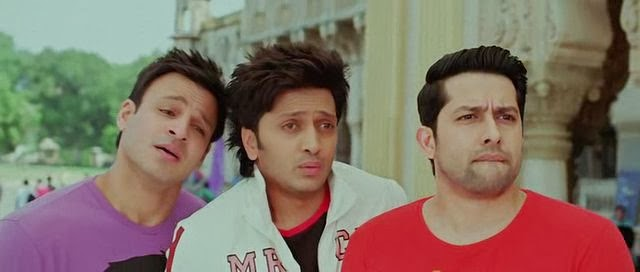 Screen Shot Of Hindi Movie Grand Masti (2013) Download And Watch Online Free at worldfree4u.com