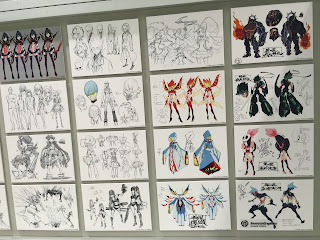 Kill la Kill Animation Character Designs