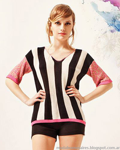 Florencia Llombart moda tejidos verano 2014.