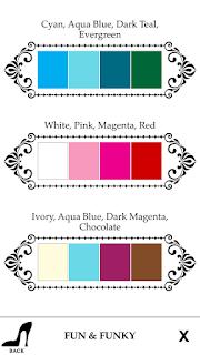 vidám színek