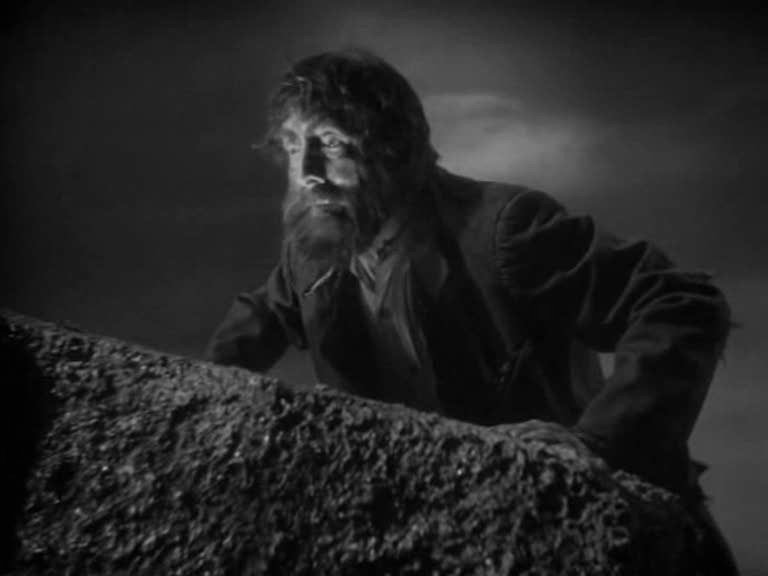 The face of Selden, the criminal - The Hound of the Baskervilles (1939)