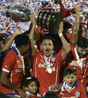 Dramatisnya Final Copa Amerika 2015 Setelah Babak Tambahan dan Adu Pinalty