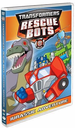 transformers rescue bots jurassic adventure cover