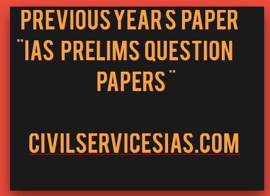 UPSC IAS Civil Services Preliminary Exam 2014 Question Paper: General Studies Paper I