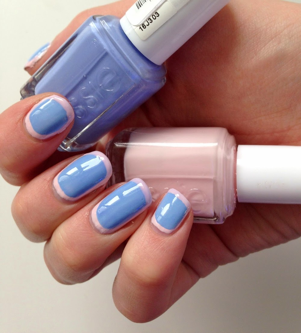 framed nails essie biniki so teeny romper room